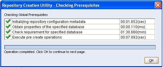 Repository Creation Utility (RCU) 11 1 1 6 0 Installation On