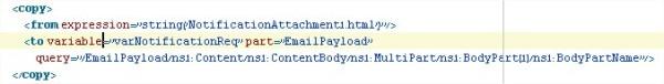 Copy attachment name
