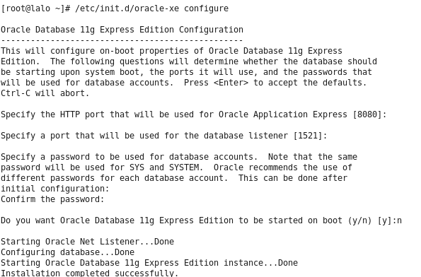 Oracle Database 11g (11 2) Express Edition (XE) Installation For