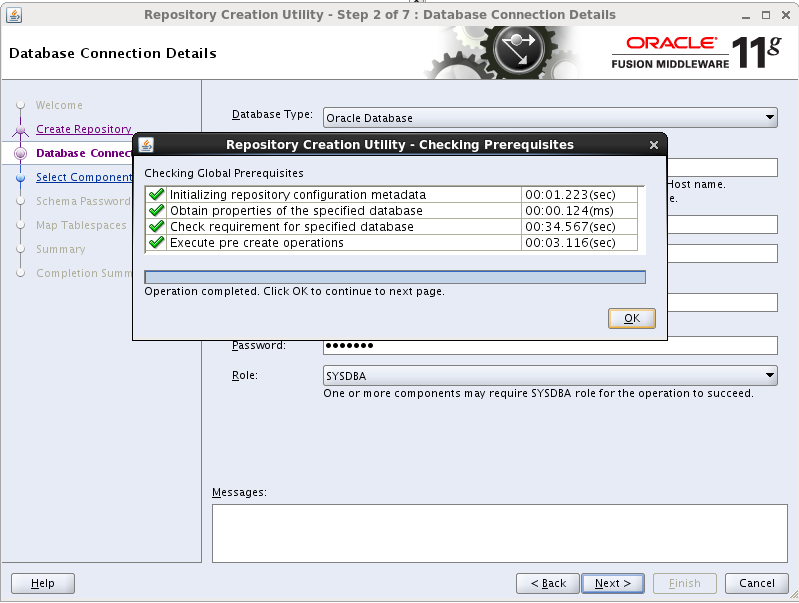 Repository Creation Utility (RCU) 11 1 1 7 0 Installation On