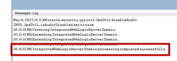 Create Domain 3