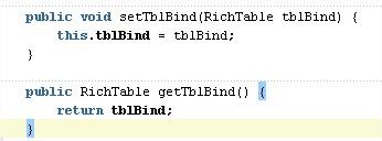 binding code
